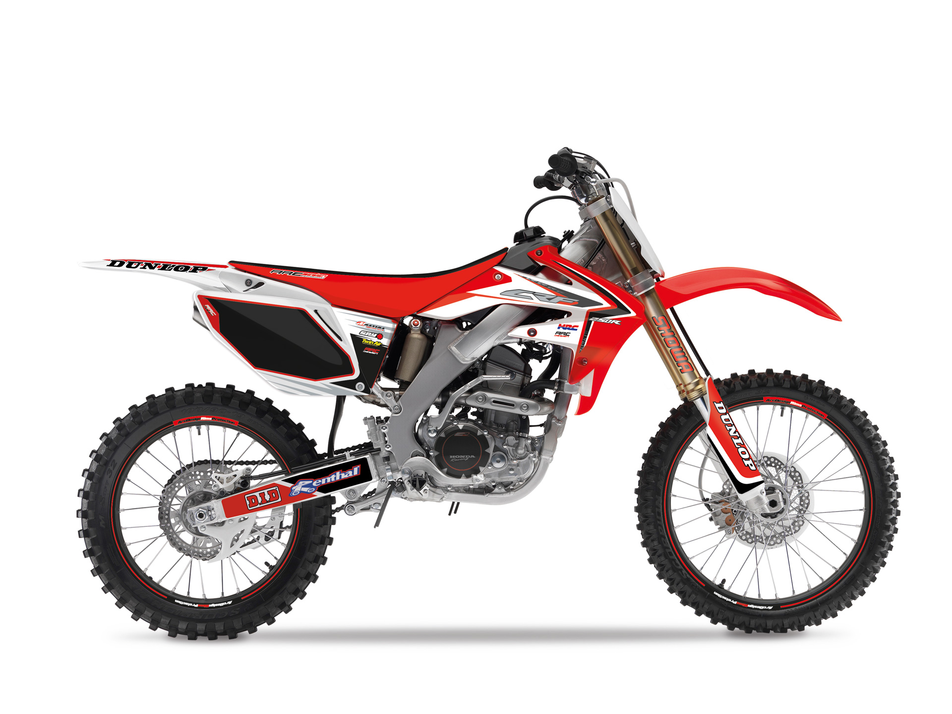 kit a c honda crf 250 2008 2009 arc design adesivi grafiche m12r ebay. Black Bedroom Furniture Sets. Home Design Ideas