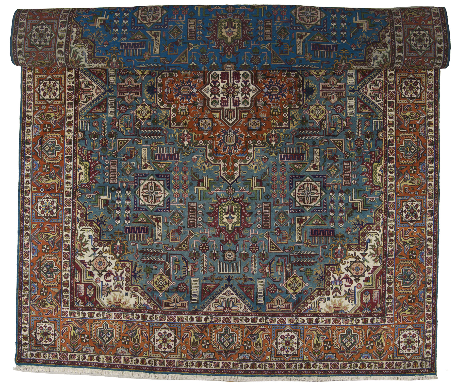 400x300 cm original hand made carpet tapis teppich alfombra rugs ebay. Black Bedroom Furniture Sets. Home Design Ideas