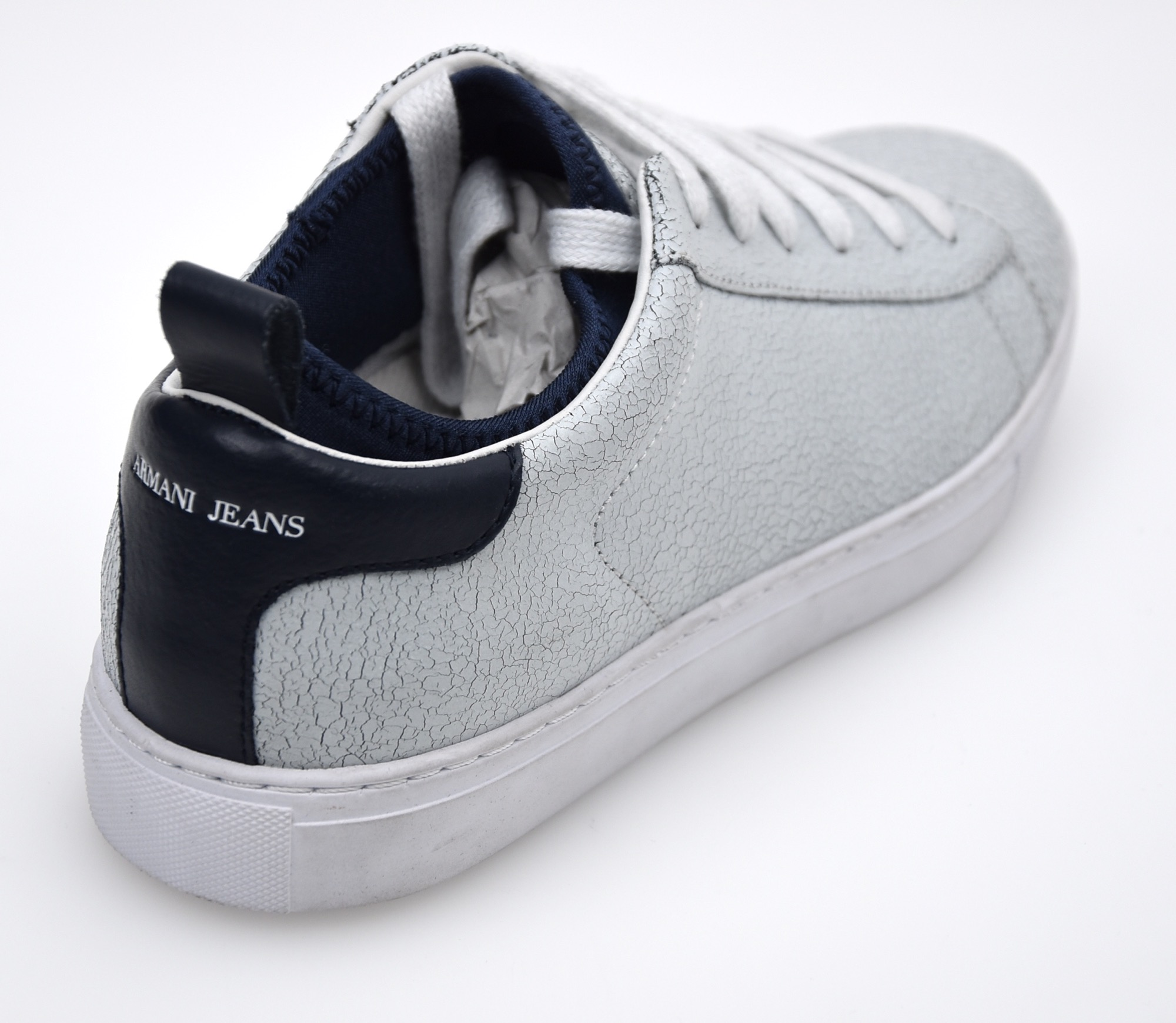 armani jeans woman sneaker shoes white code 6a430 ebay. Black Bedroom Furniture Sets. Home Design Ideas