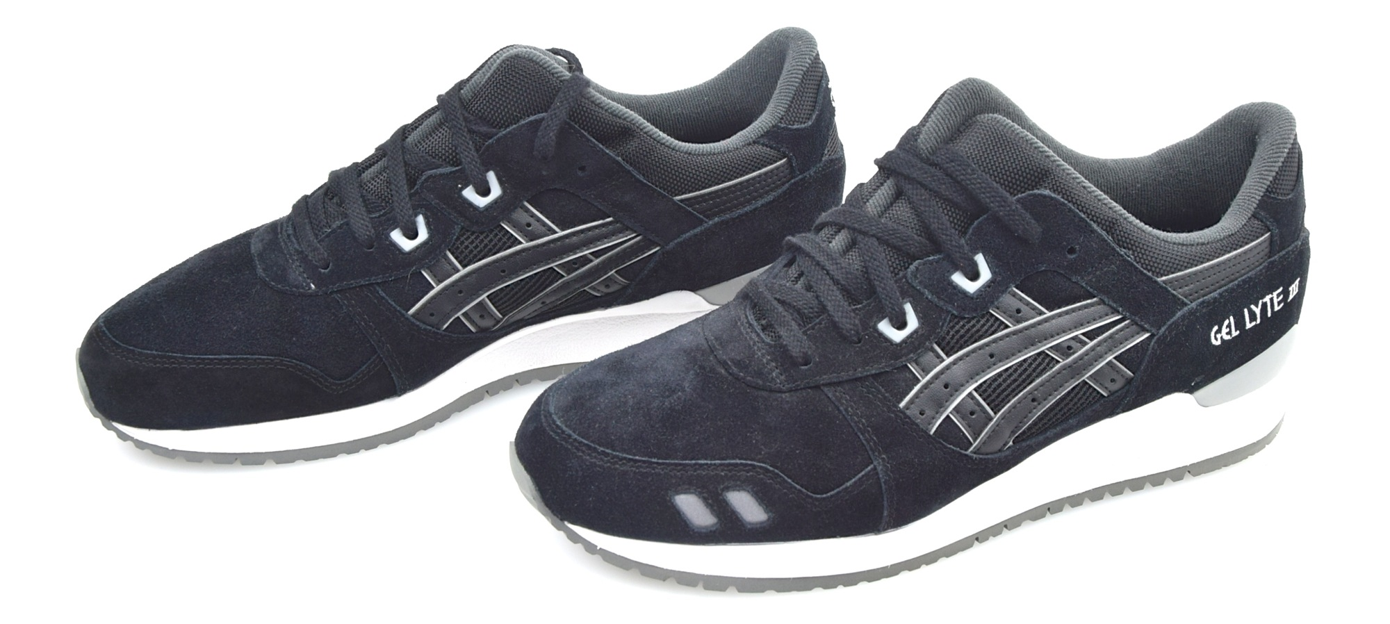 asics gel lyte 3 black blue