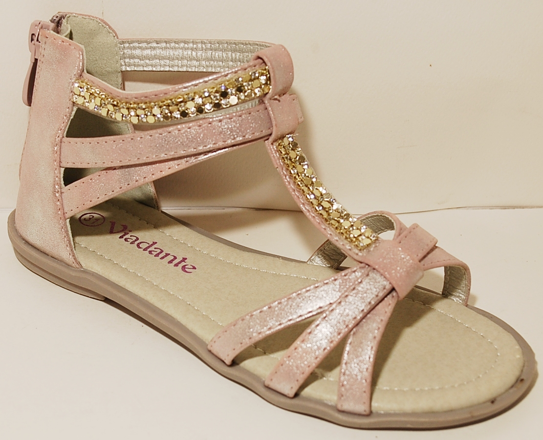 Sandals-Girls-Sandal-Girl-Shoes-Girls-White-Silver-Gold-Pink-Slippers-Beach-Sum