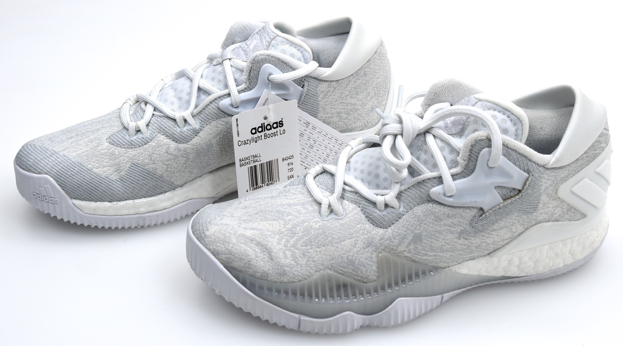 separation shoes 28a21 e507b ADIDAS MAN BASKETBALL SPORTS SNEAKER SHOES CODE CRAZYLIGHT BOOST LOW 2016
