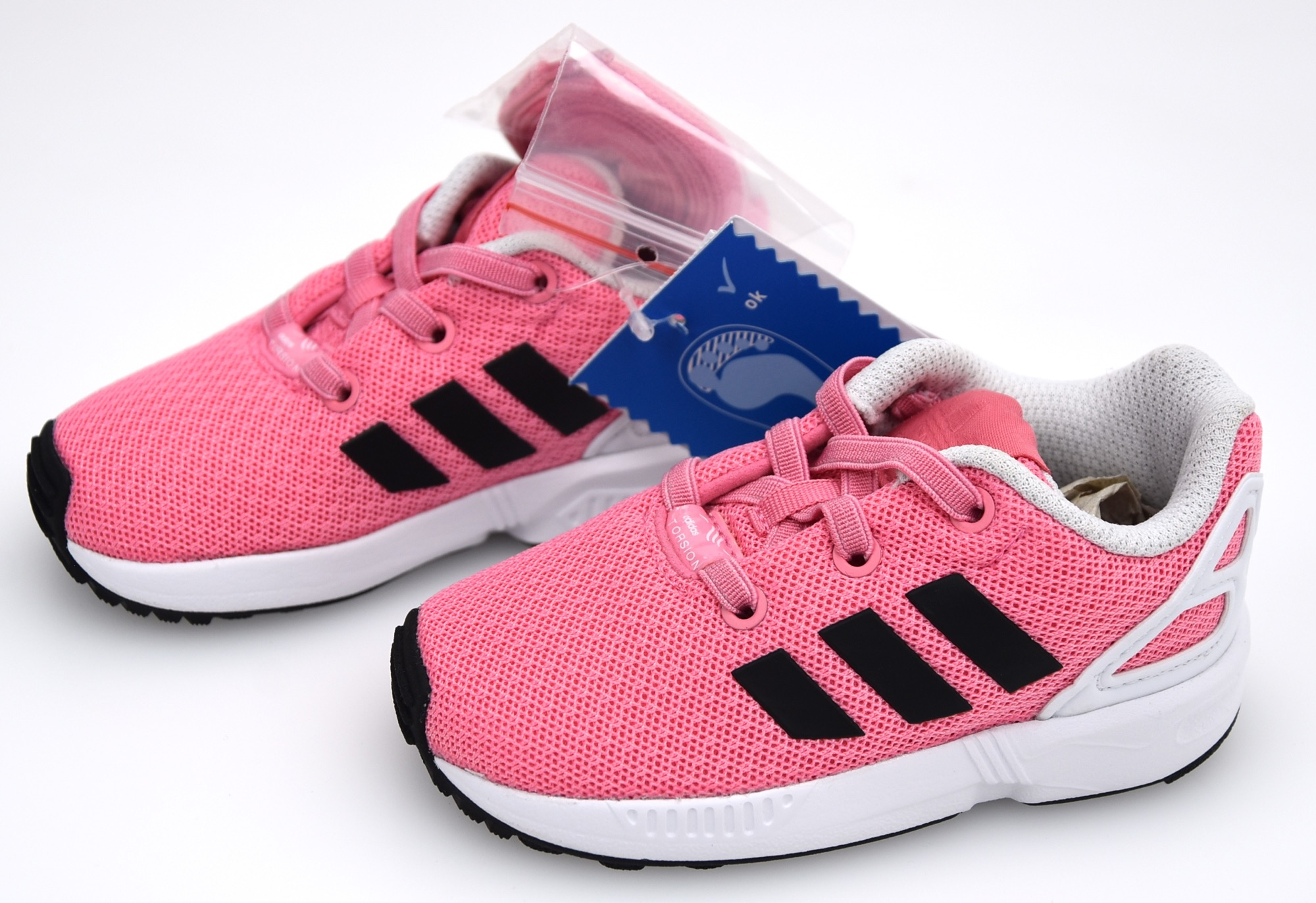 finest selection fe0f2 2d5e5 ADIDAS JUNIOR BOY GIRL SNEAKER SHOES CASUAL CODE BB2433 - BB2432 ZX FLUX EL  I