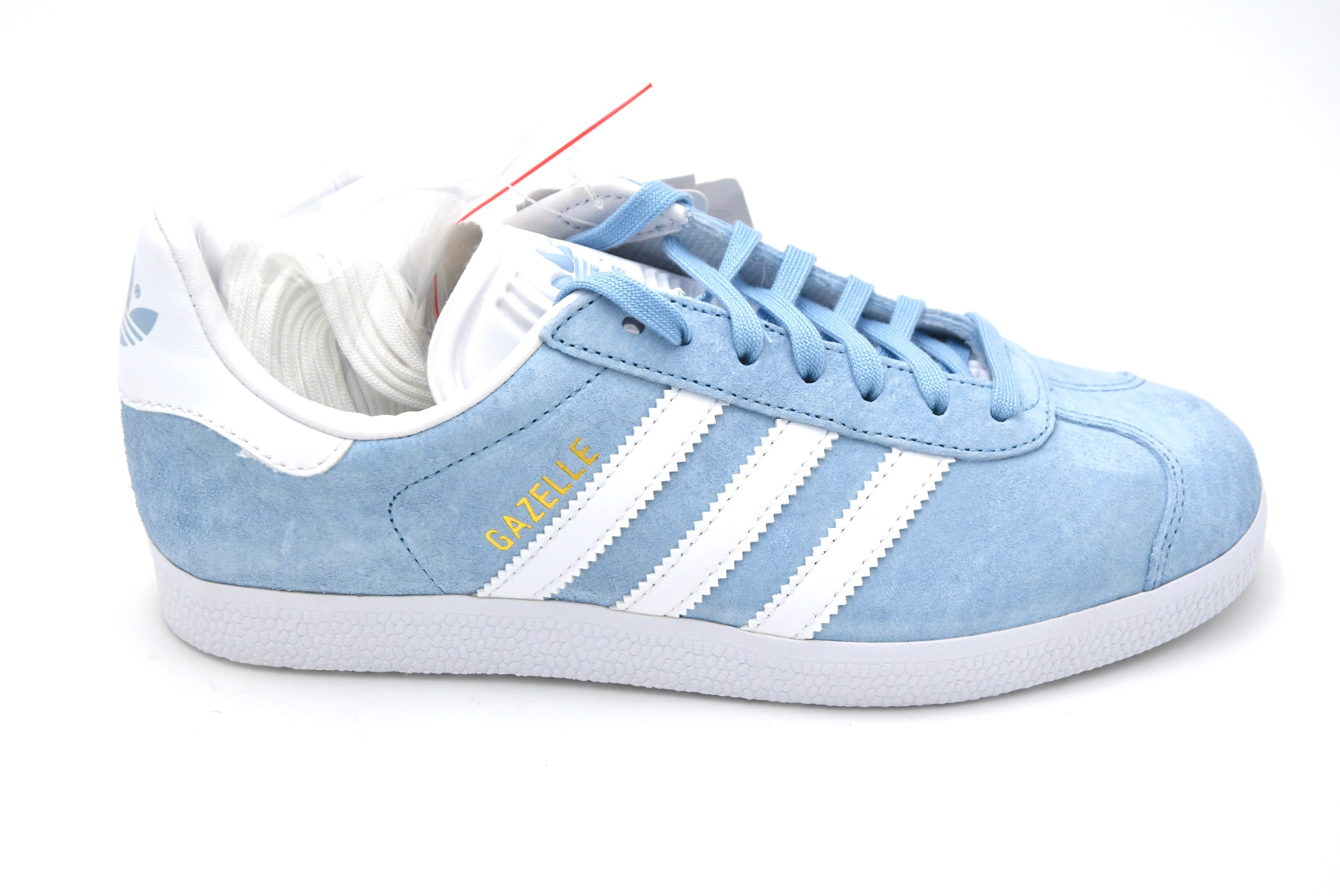 half off 0987b 9f05c ADIDAS MAN FREE TIME CASUAL SNEAKER SHOES LEATHER CODE BB5481 GAZELLE DEFECT