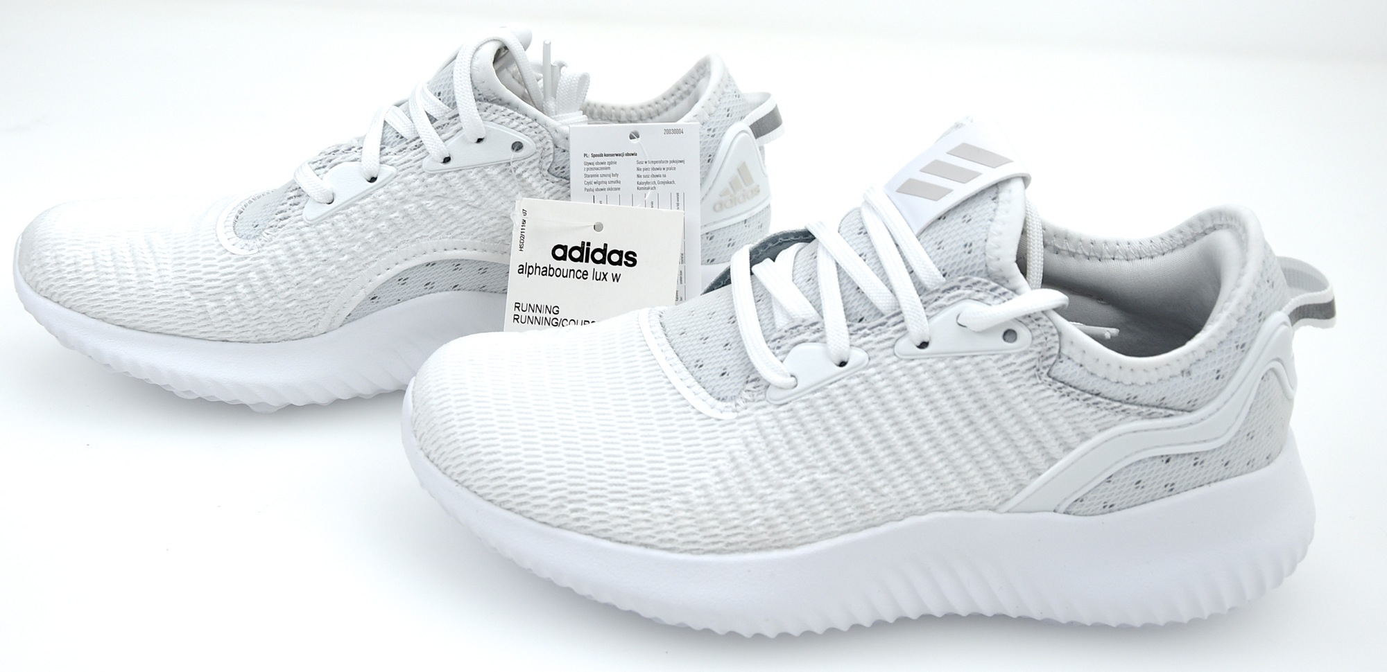 best service acc65 0bc2d ADIDAS WOMAN SPORTS RUNNING SNEAKER SHOES CODE BW1216 - BW1217 ALPHABOUNCE  LUX W