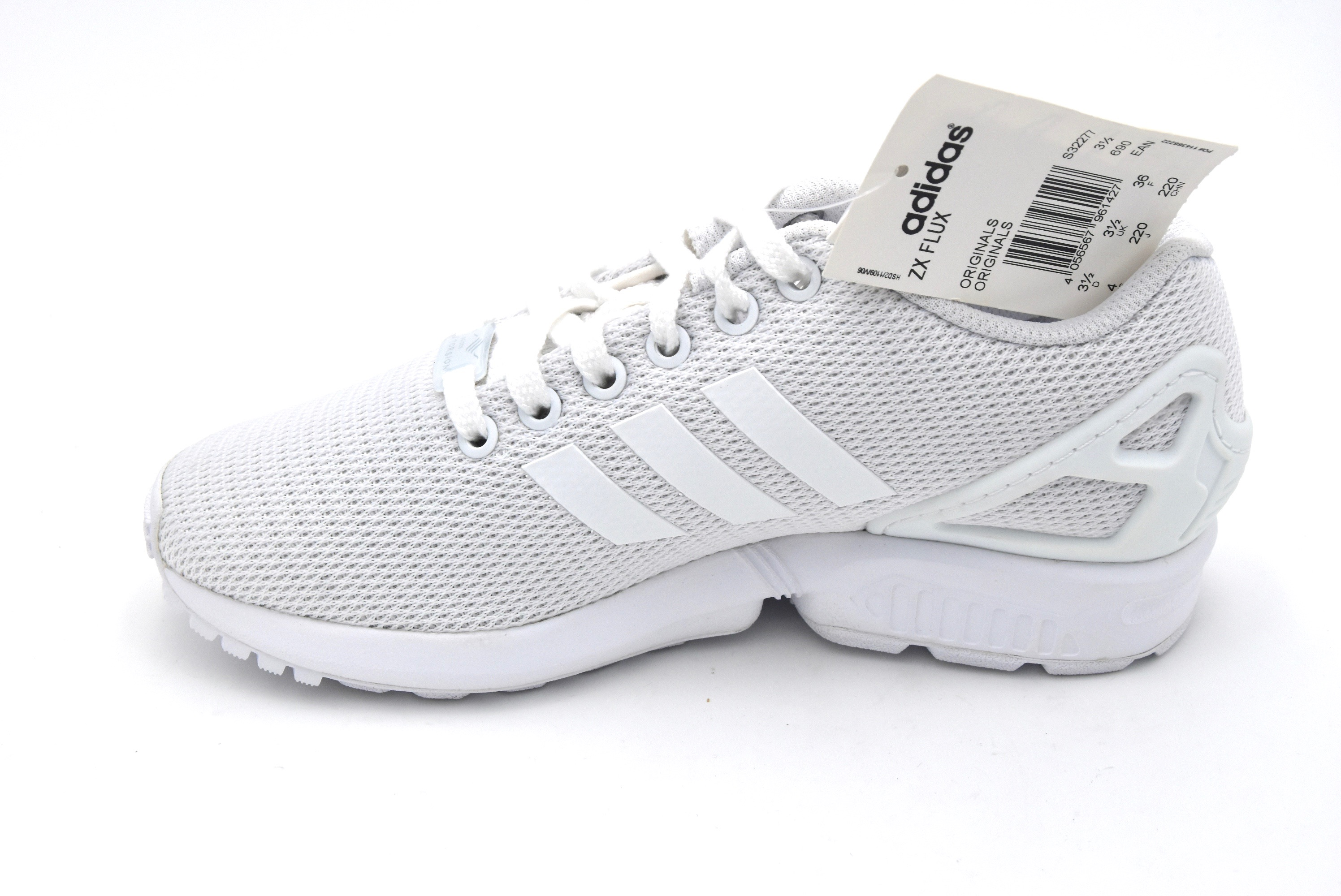 uk availability b25c8 0e7c6 ADIDAS WOMAN SPORTS SNEAKER SHOES SYNTHETIC CODE S32277 - S32279 ZX FLUX