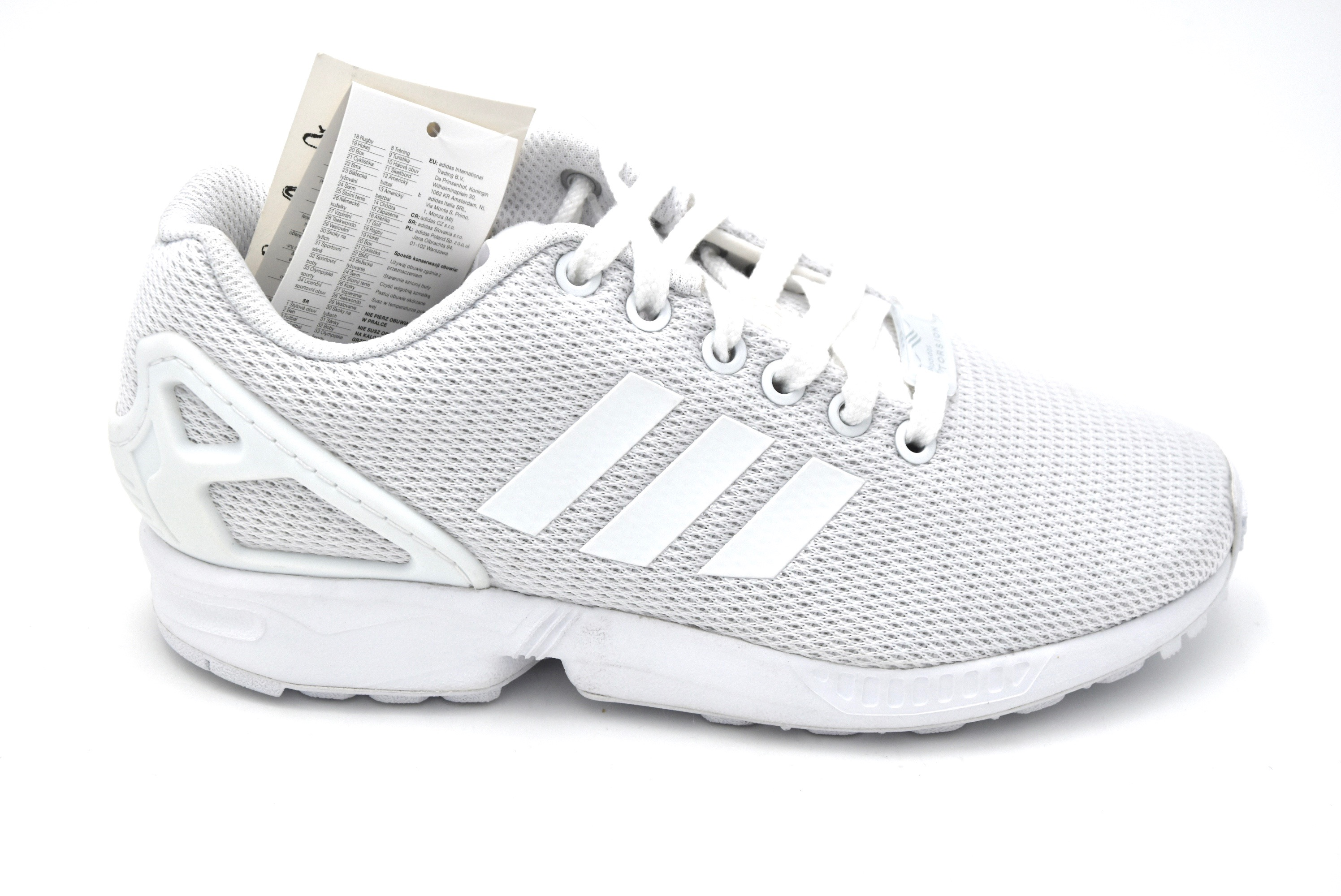 new products 12524 33eee ADIDAS DONNA SCARPA SNEAKER SPORTIVA TEMPO LIBERO ART. S32277 - S32279 ZX  FLUX