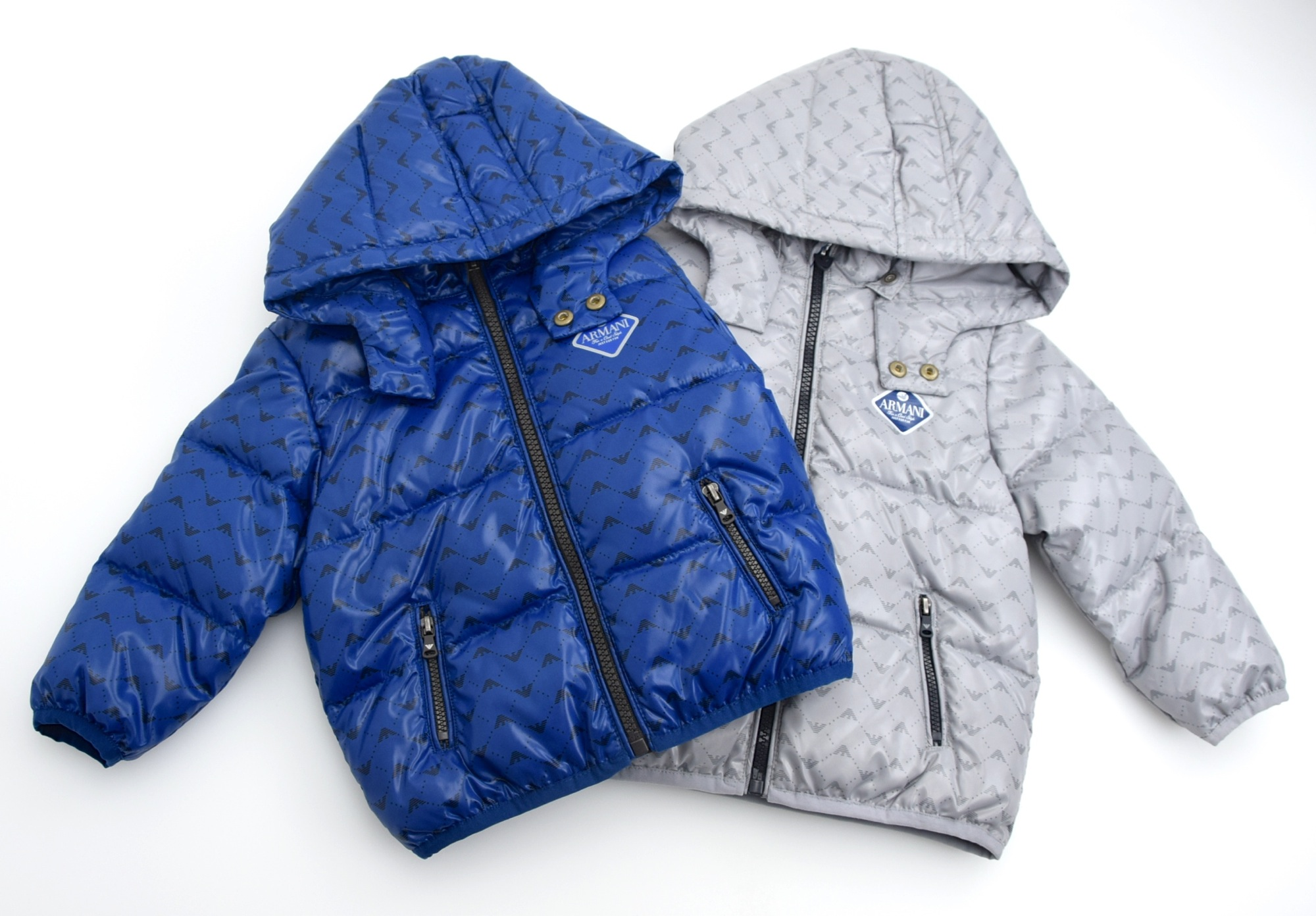 4de87cf8a Details about ARMANI BABY BOY JUNIOR BOMBER PUFFER DOWN JACKET WINTER  CASUAL CODE ZDL02