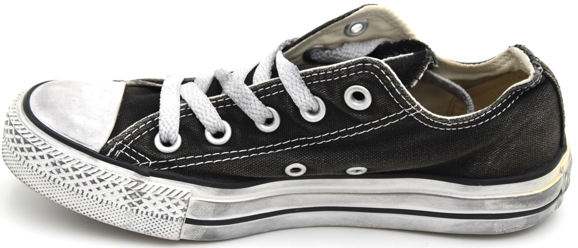 Details about CONVERSE WOMAN SNEAKER SHOES CASUAL CODE ALL STAR OX CANVAS LTD 1C278 DEFECT