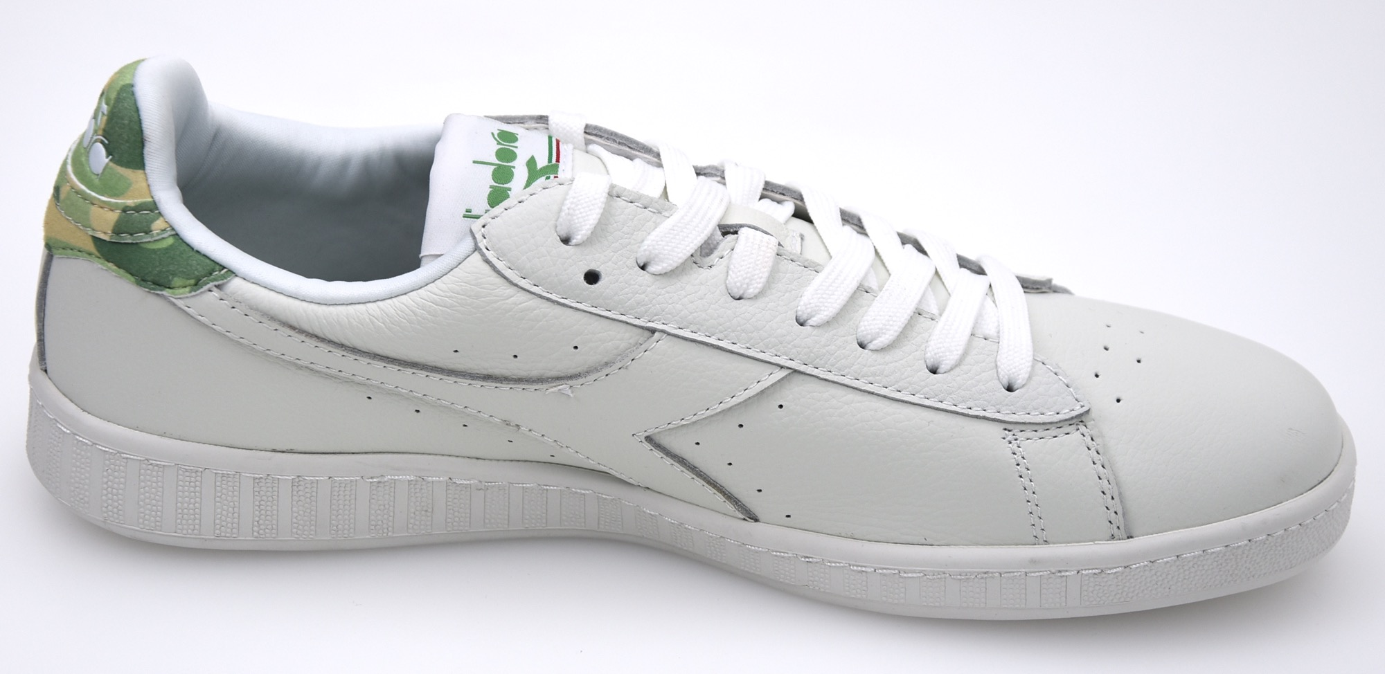 af1d9009 Details about DIADORA MAN SNEAKER SHOES LEATHER CASUAL FREE TIME 501.171856  01 GAME L LOW CAMO