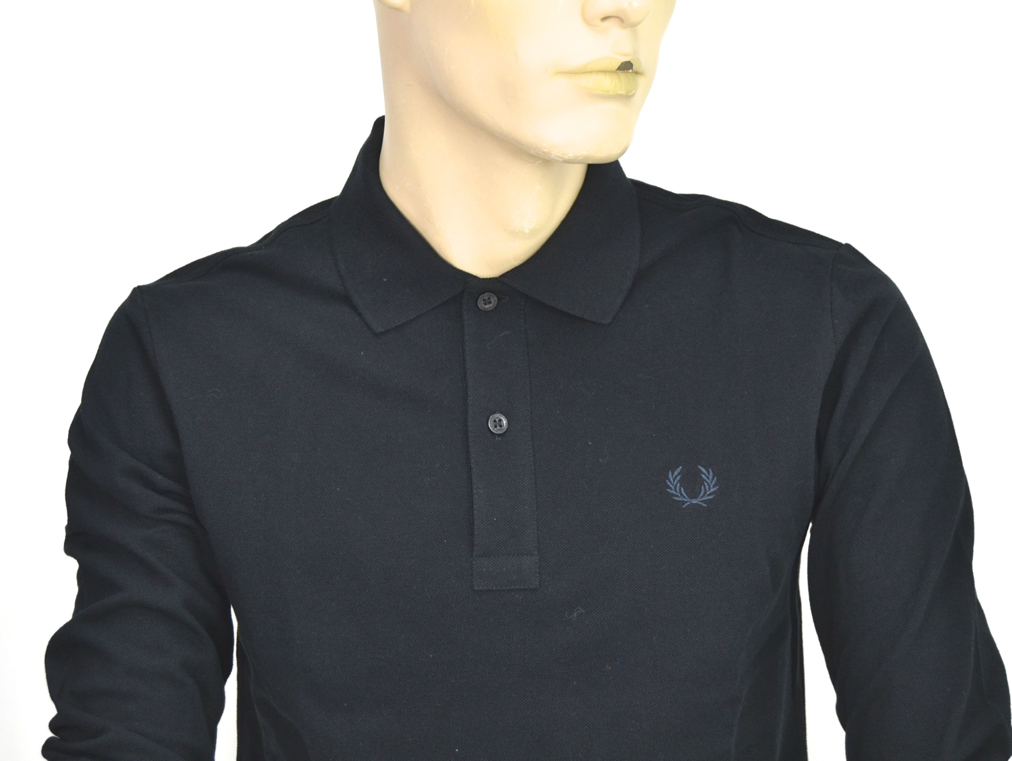 Fred Perry Man Polo Shirts Casual Free Time Long Sleeve Cotton Code