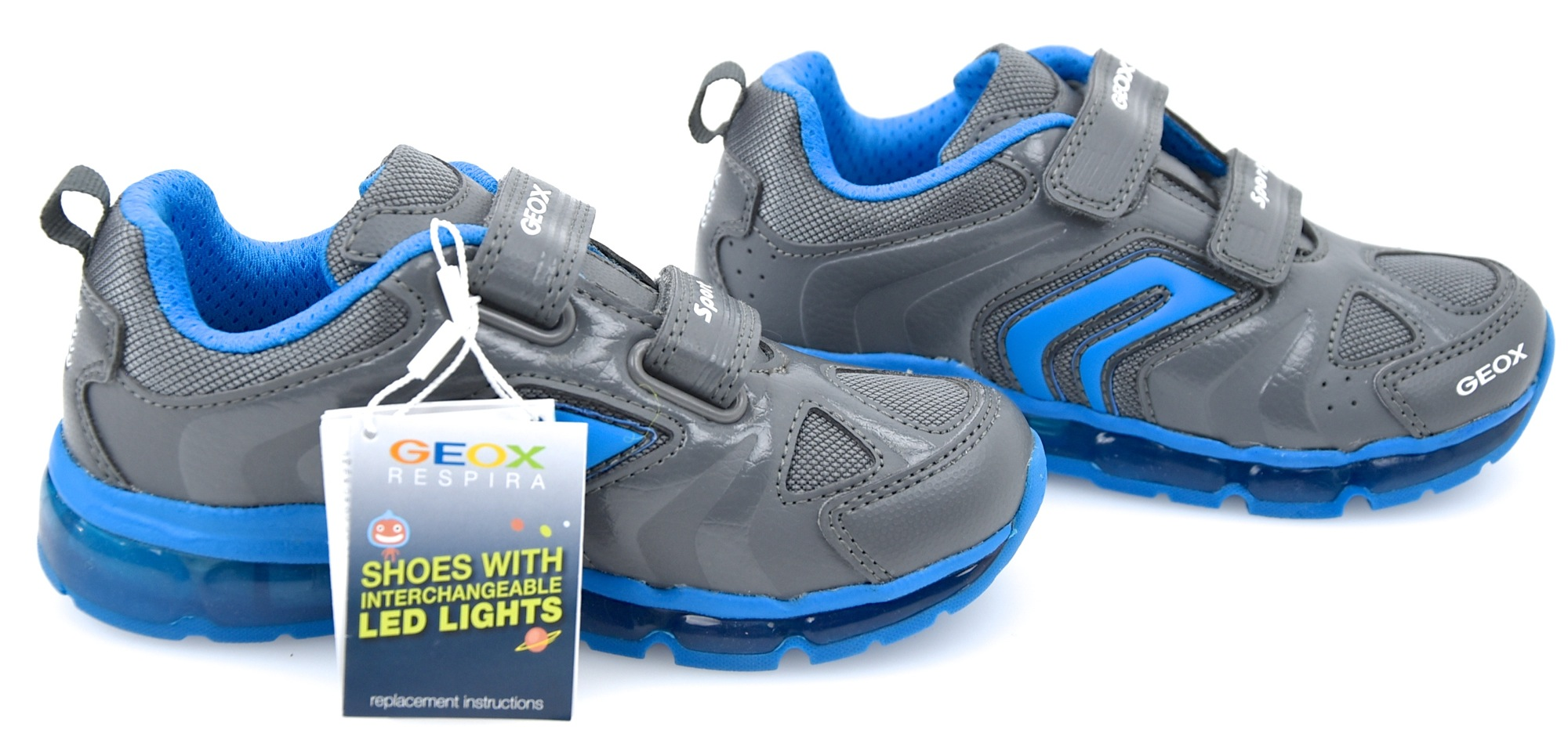 Details about GEOX JUNIOR BOY SNEAKER SHOES WITH LIGHTS CASUAL J ANDROID B.  D J6444D 0BU11 93c843c5c2d