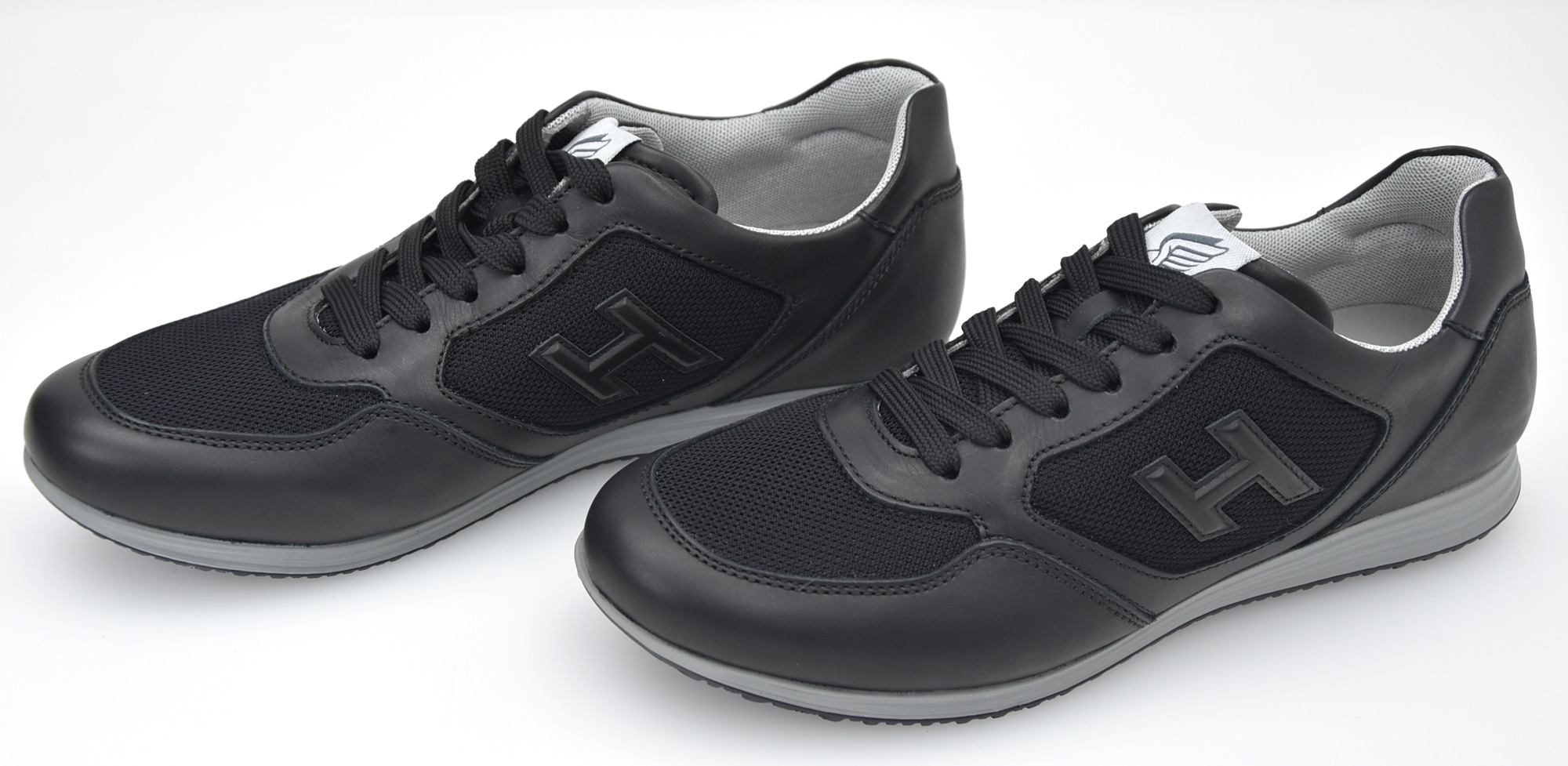 le dernier a60d4 34db0 Details about HOGAN OLYMPIA X MAN SNEAKER SHOES CASUAL FREE TIME LEATHER  HXM2050T870CXCB999