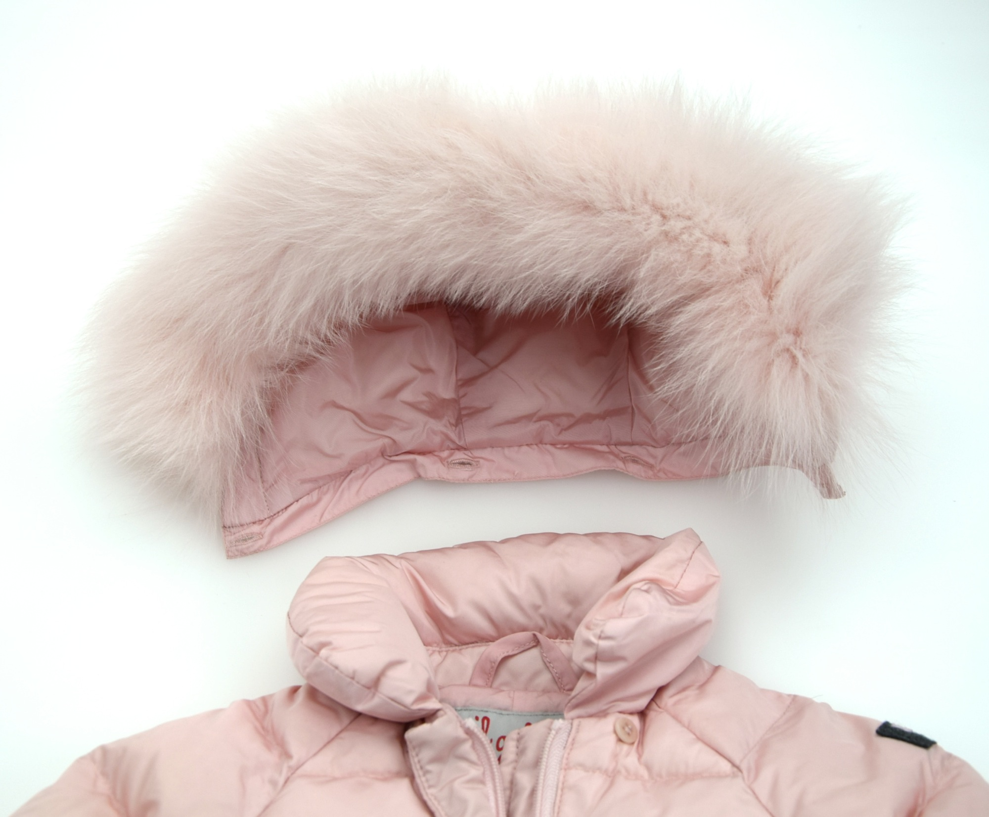 4067828e8 IL GUFO JUNIOR GIRL BABY PUFFER DOWN SUITE WINTER CODE A14NO028EC701 ...