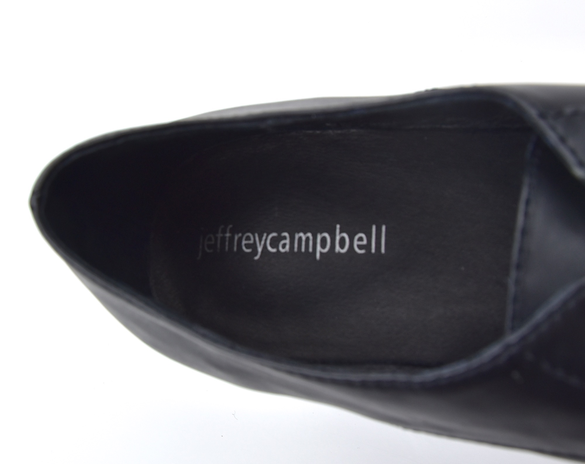 JEFFREY CAMPBELL DONNA SCARPA BUSINESS DERBY CLASSICA CON ZEPPA ART.  BERLINER 0e03c3c4839