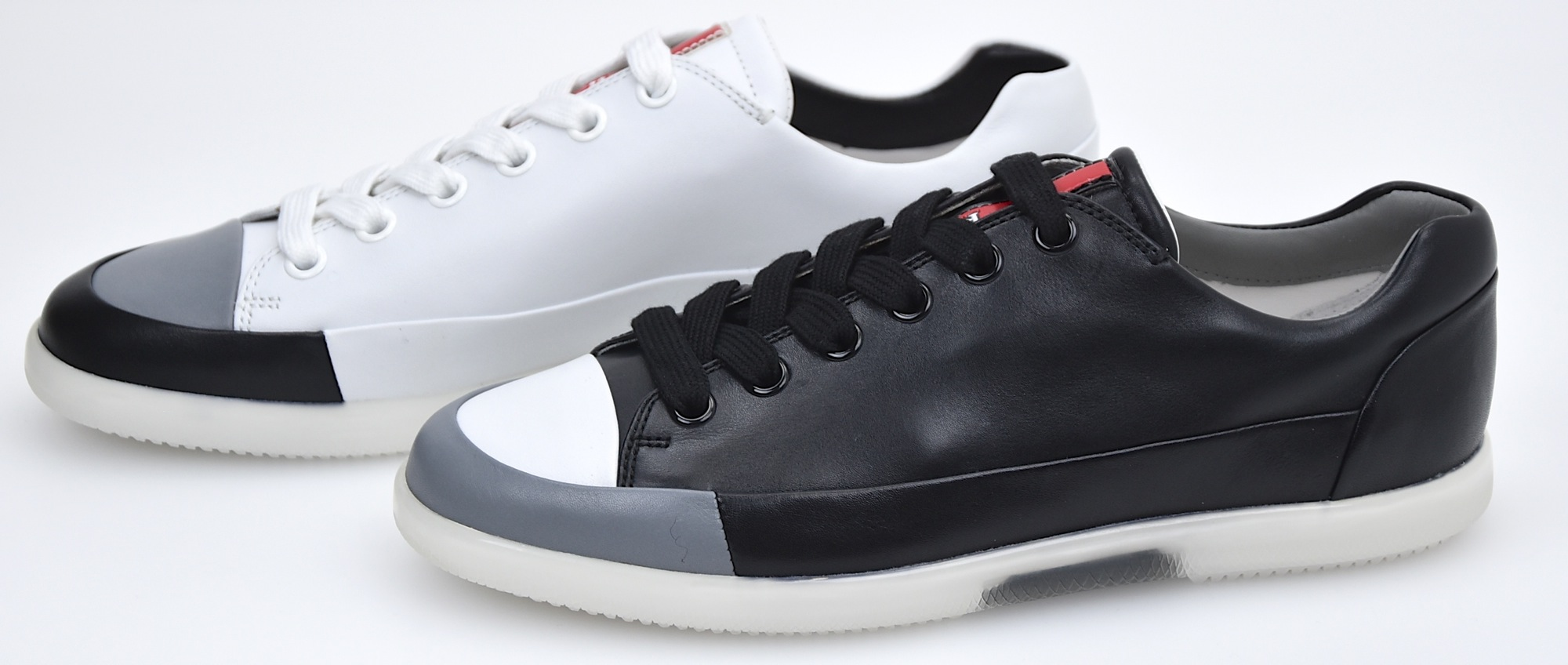 adfbdea8b6bc5 Details about PRADA MAN SNEAKER SHOES CASUAL FREE TIME LEATHER CODE 4E2486