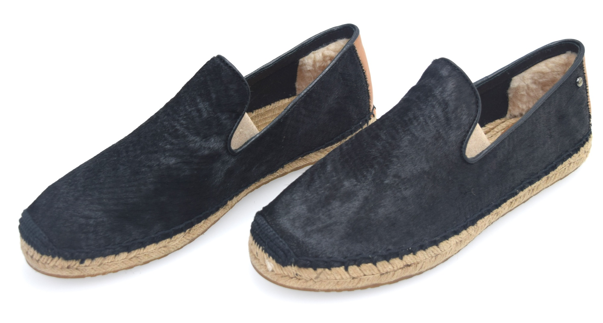 26d0b1eab18 Details about UGG AUSTRALIA WOMAN SNEAKER SLIP ON SHOES W RINNE CALF HAIR  SCALES 1007150