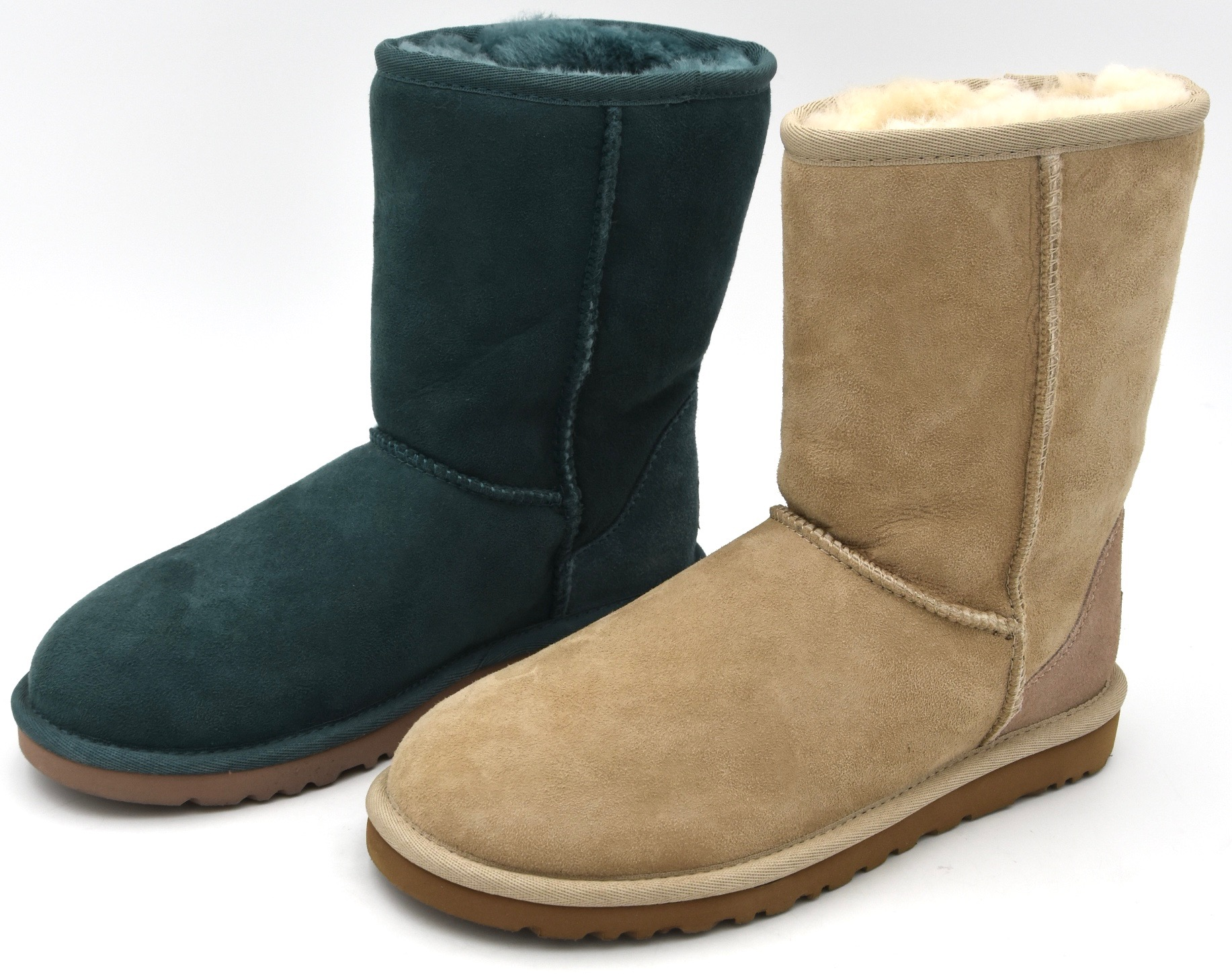 51886a98b24 Details about UGG AUSTRALIA WOMAN ANKLE BOOTS BOOTIES WINTER SUEDE CODE W  CLASSIC SHORT 5825 W