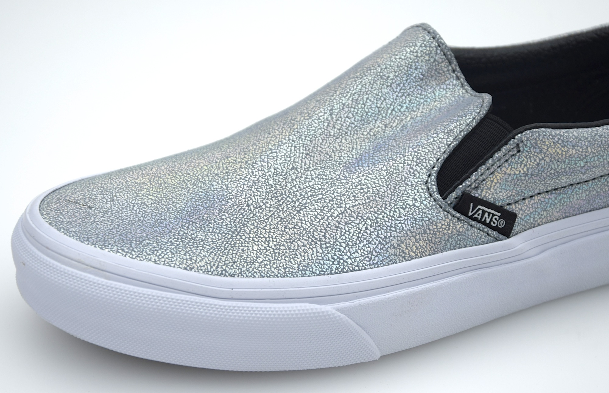 36ffb1a3815526 VANS WOMAN SNEAKER SLIP ON SHOES IRIDESCENT CODE CLASSIC SLIP-ON 18DGZC