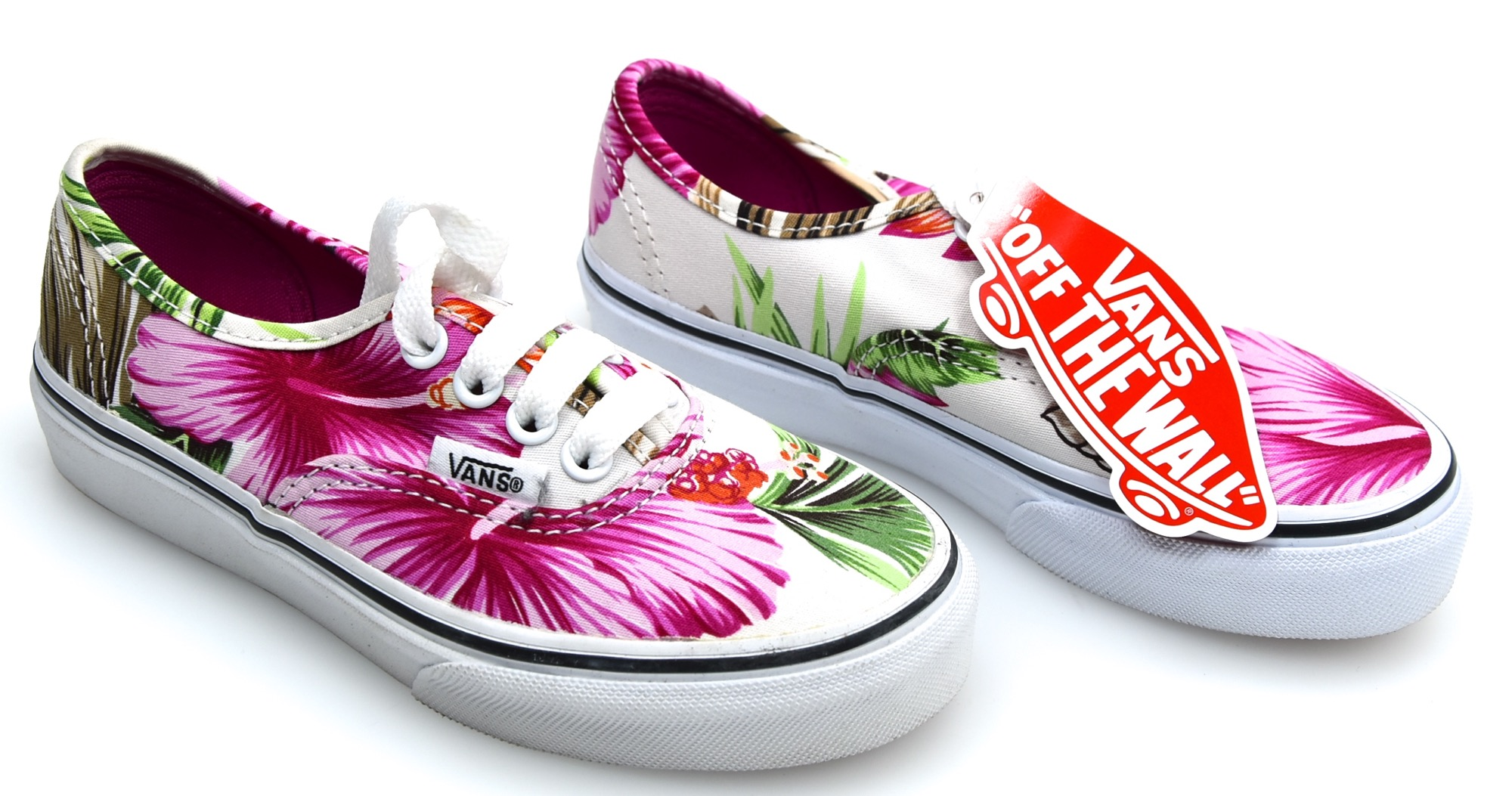 920b5bb39f Details about VANS JUNIOR GIRL SNEAKER SHOES CASUAL FREE TIME HAWAIIAN  FLORAL AUTHENTIC ZUQFG0