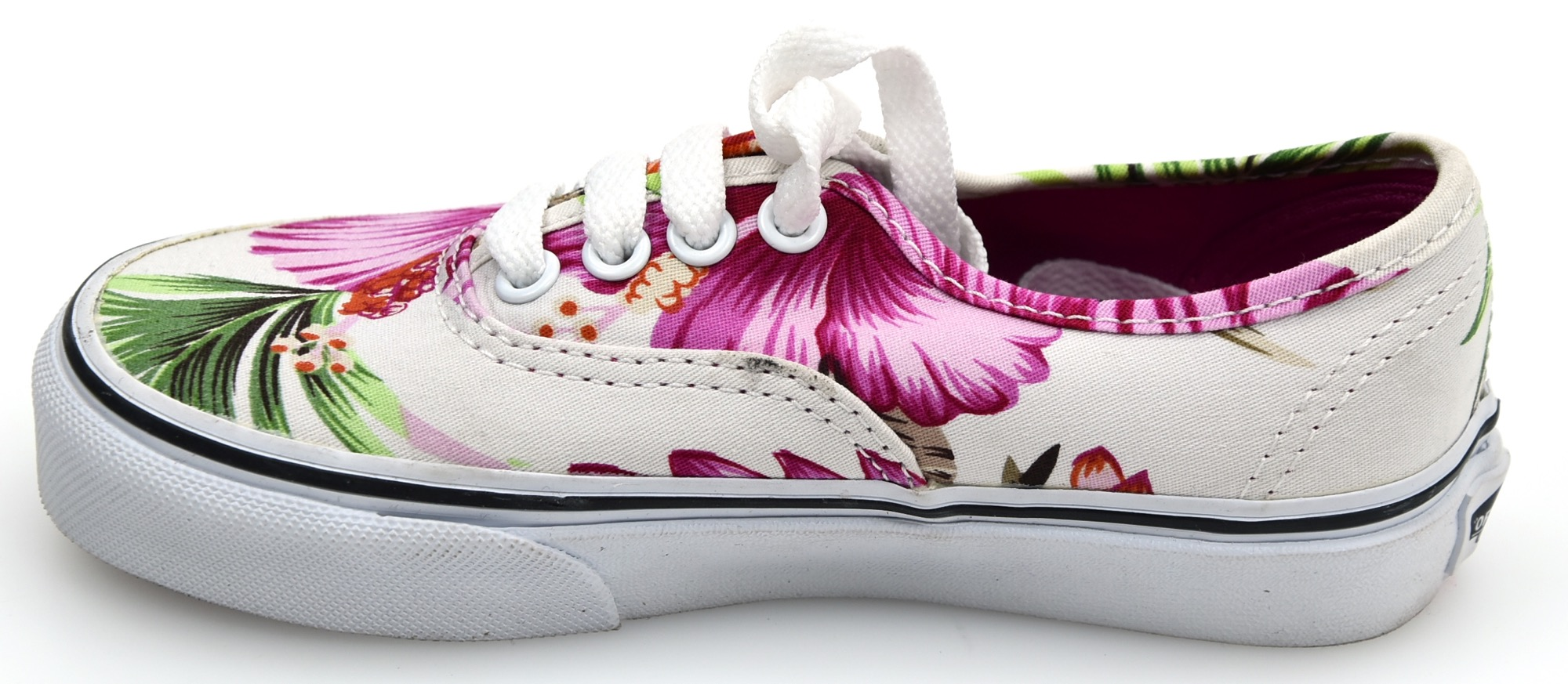 half off c0424 41417 VANS JUNIOR GIRL SNEAKER SHOES CASUAL FREE TIME HAWAIIAN FLORAL AUTHENTIC  ZUQFG0