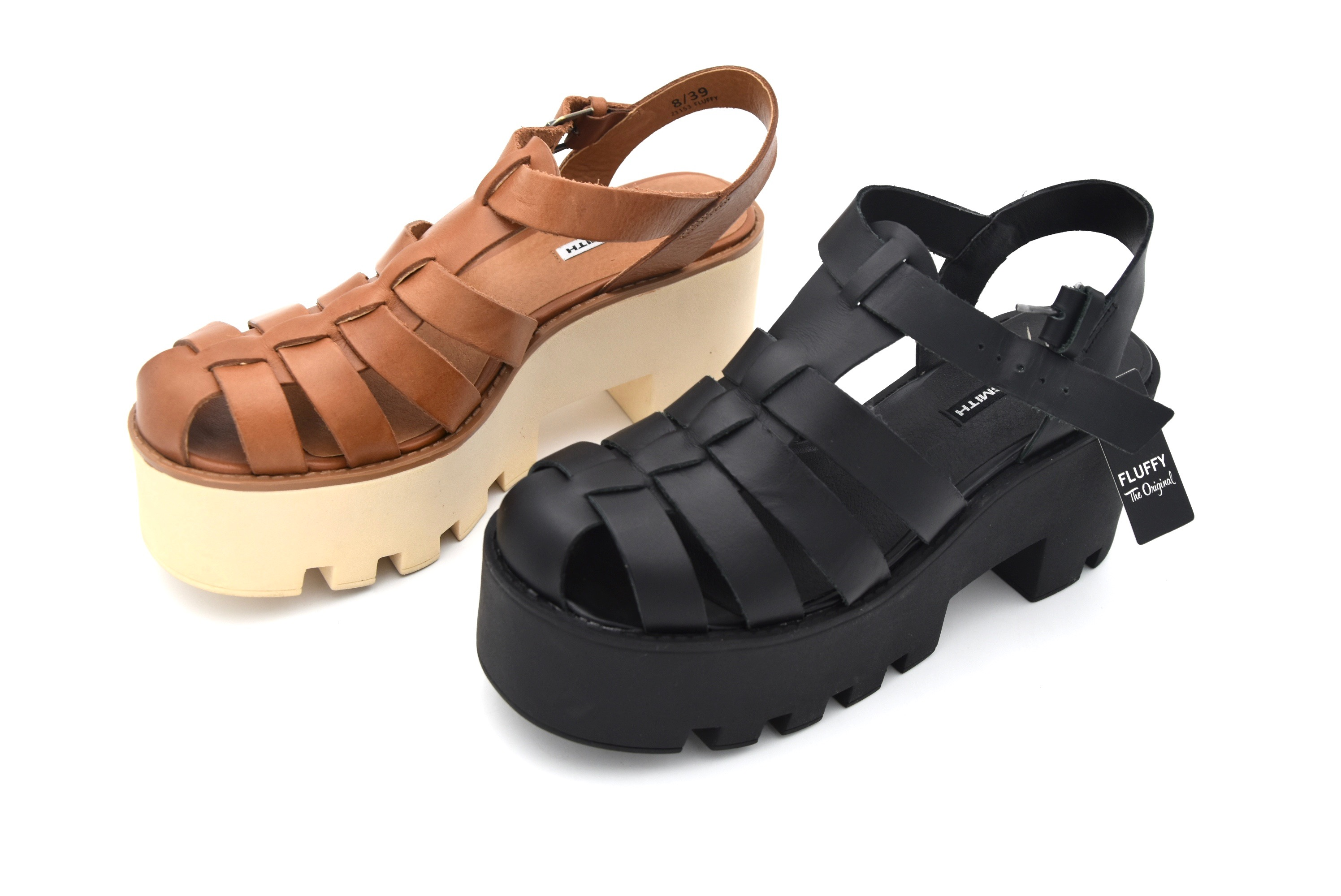 7aeaae4496a WINDSORSMITH WOMAN SANDALS SHOES CASUAL FREE TIME LEATHER CODE FLUFFY