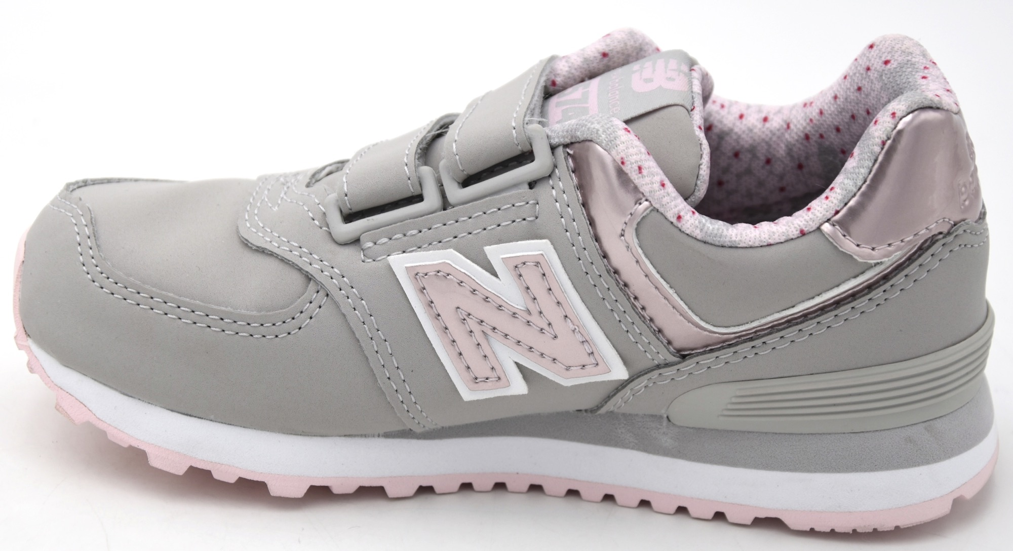 Details about New balance girl sneakers casual casual faux leather kv574f1y show original title