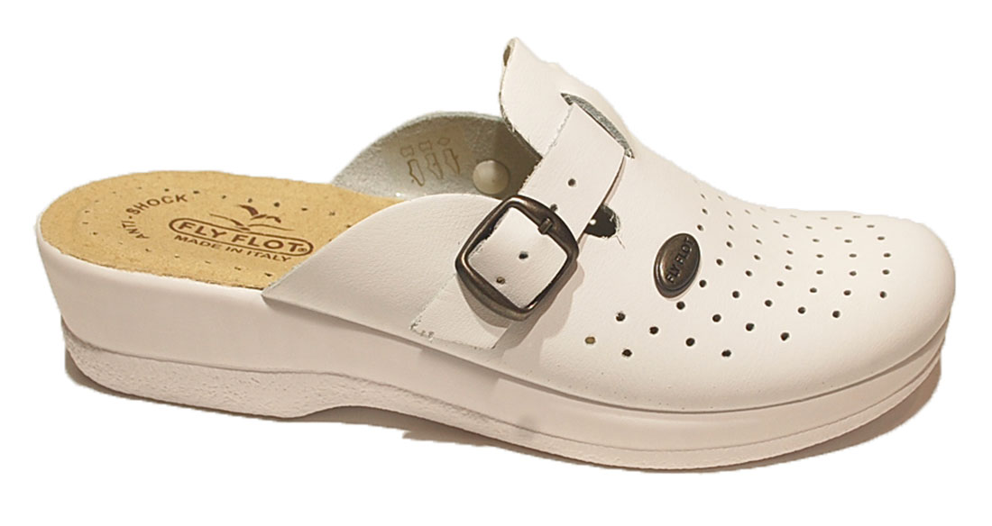 Ciabatte Sanitarie Ciabatta Sanitaria Donna Made In Italy Fly Flot Bianco  Bianca f72e541af86