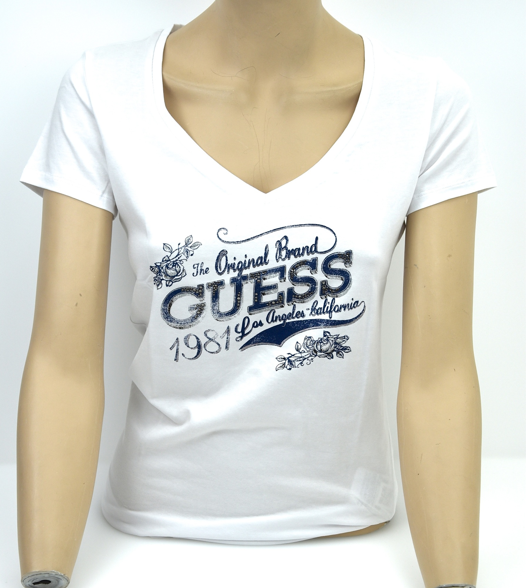 GUESS-WOMAN-T-SHIRT-WHITE-OR-PINK-CODE-W22I02J1310